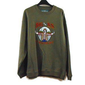 Vintage Big Dogs Pullover Sweatshirt Mens M VTG